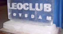 Leoclub-Logo auf Eis_5