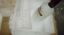 Smirnoff Flaschenkühlung